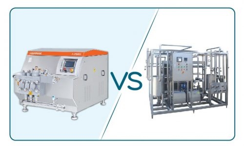 homogenizer vs pastorizer